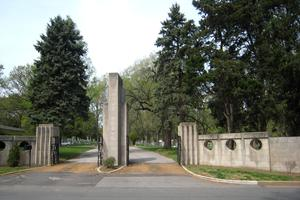 United Hebrew Cemetery entrance